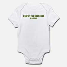 Downy Woodpecker Hugger Infant Bodysuit