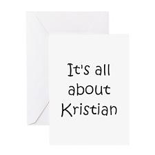 Funny Kristian Greeting Card