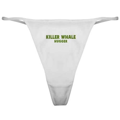 Killer Whale Hugger Classic Thong