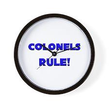Colonels Rule! Wall Clock