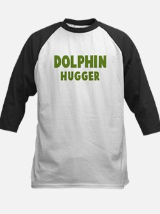 Dolphin Hugger Kids Baseball Jersey
