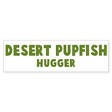 Desert Pupfish Hugger Bumper Bumper Sticker