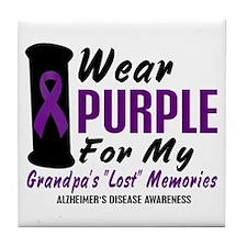 Grandpa's Lost Memories 2 Tile Coaster