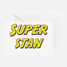 Super stan Greeting Card