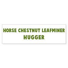 Horse Chestnut Leafminer Hugg Bumper Bumper Sticker