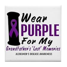 Grandfather's Lost Memories 2 Tile Coaster