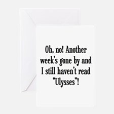 read ulysses Greeting Card