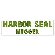 Harbor Seal Hugger Bumper Bumper Sticker