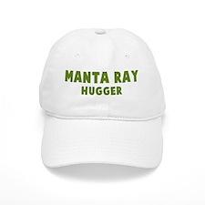 Manta Ray Hugger Baseball Cap