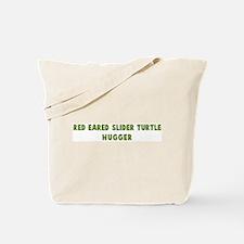 Red-Eared Slider Turtle Hugge Tote Bag