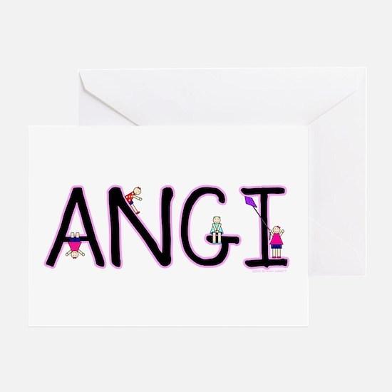 Angi (Girl) Greeting Card