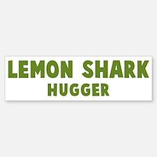 Lemon Shark Hugger Bumper Bumper Bumper Sticker