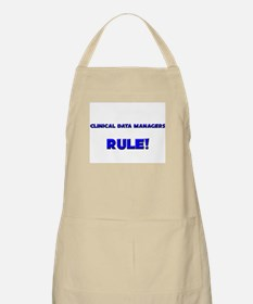 Clinical Data Managers Rule! BBQ Apron