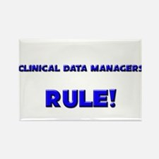 Clinical Data Managers Rule! Rectangle Magnet