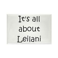 Cute Leilani Rectangle Magnet