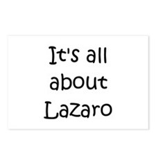 Funny Lazaro's Postcards (Package of 8)