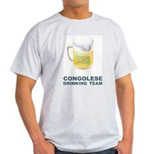 Congolese Drinking Team T-Shirt
