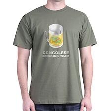 Congolese Drinking Team T-Shirt