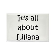 Funny Liliana Rectangle Magnet