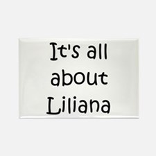 Cute Liliana Rectangle Magnet