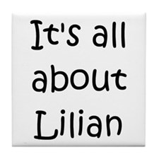Cool Lilian Tile Coaster