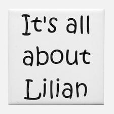 Funny Lilian Tile Coaster