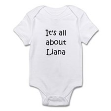 Funny Liana's Infant Bodysuit