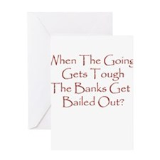 Cool Bailout Greeting Card