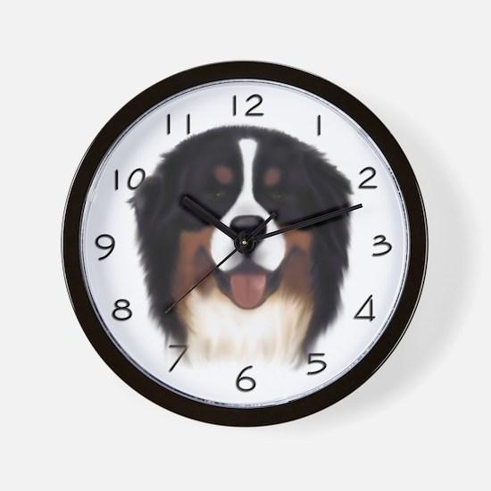 Male Head Study Wall Clock