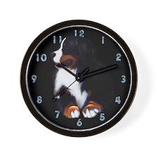 Cute Sennenhund Wall Clock