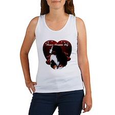 Funny Bernese puppy Women's Tank Top