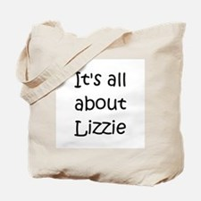 Funny Lizzie Tote Bag