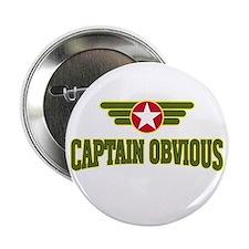 "Captain Obvious - 2.25"" Button"