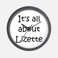 Cool Lizette Wall Clock