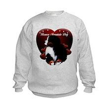 Cute Bernese puppy Sweatshirt