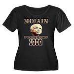 McCAIN (19) 08!!!! Women's Plus Size Scoop Neck Da