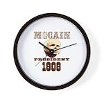McCAIN (19) 08!!!! Wall Clock
