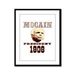 McCAIN (19) 08!!!! Framed Panel Print