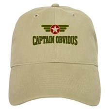 Baseball Captain Obvious - Baseball Cap