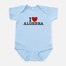 I Love Algebra Infant Bodysuit