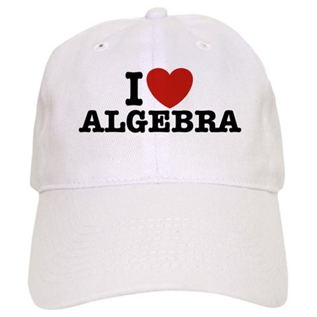 I Love Algebra Cap