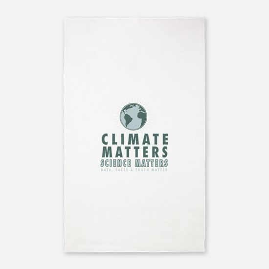 Cute Climate change Area Rug