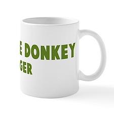 Miniature Donkey Hugger Mug