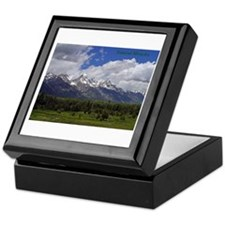 Grand Tetons Keepsake Box