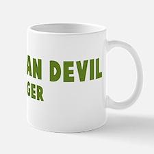 Tasmanian Devil Hugger Mug
