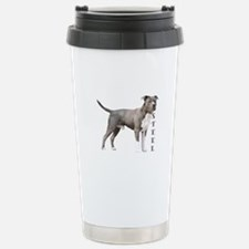Made of Steel with a Heart O Travel Mug