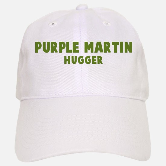 Purple Martin Hugger Baseball Baseball Cap