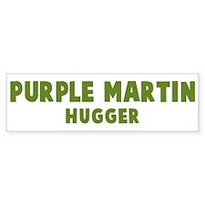 Purple Martin Hugger Bumper Bumper Sticker