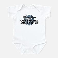 Librarians For Offshore Drilling Infant Bodysuit