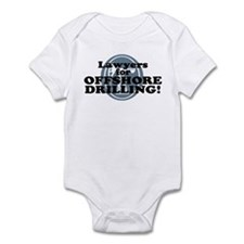 Lawyers For Offshore Drilling Infant Bodysuit